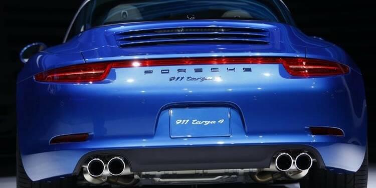 Bénéfices en hausse pour Porsche, qui prévoit des acquisitions