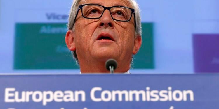 La quasi-totalité de l'équipe Juncker confirmée à Bruxelles