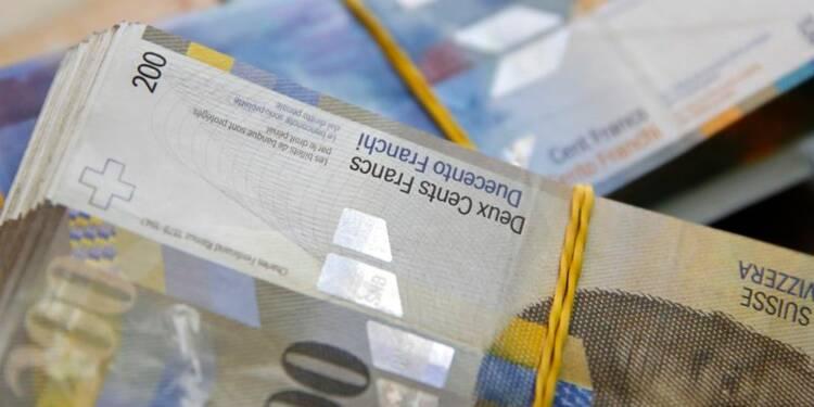 Le franc suisse pourrait coûter un milliard aux collectivités