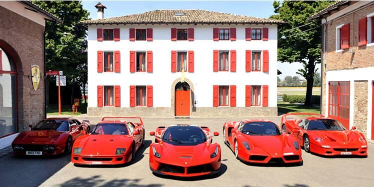 Ferrari, une marque ultra-rentable pour Fiat