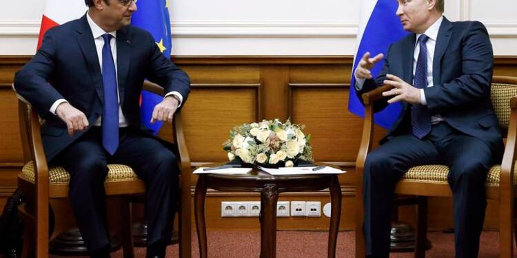 Poutine espère un nouvel accord de cessez-le-feu en Ukraine