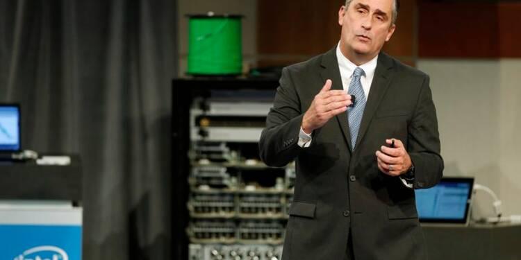 Intel optimiste pour 2015, le titre monte