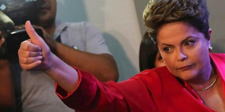 Au Brésil, un sondage favorable à Rousseff déplait aux marchés