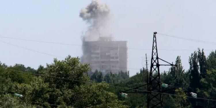 Kiev dit gagner du terrain,la pression diplomatique s'intensifie