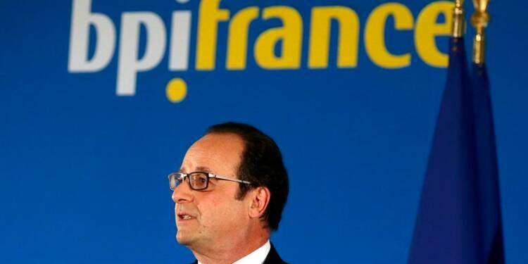 "Hollande invite la BPI à ""amplifier la reprise"""