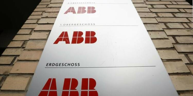 ABB annonce un solide carnet de commandes mais reste prudent