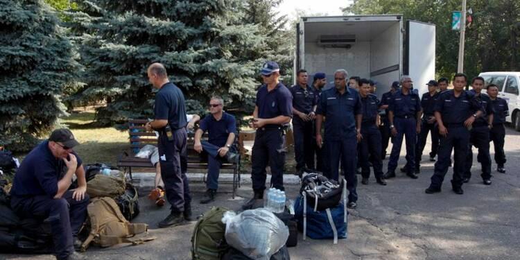 Suspension de la trêve sur le site du crash du MH17 en Ukraine