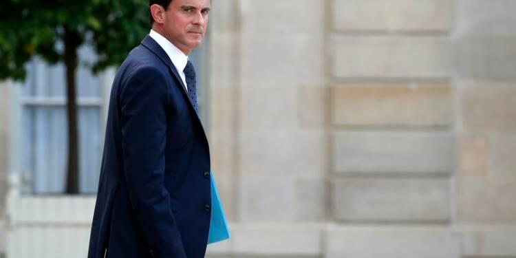 Manuel Valls à l'université du Medef en plein marasme économique
