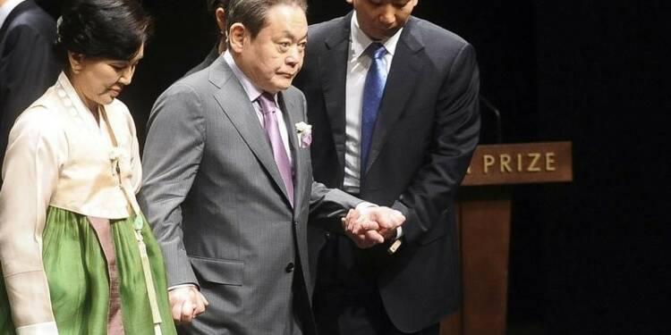 Le projet de succession à la tête de Samsung se complique