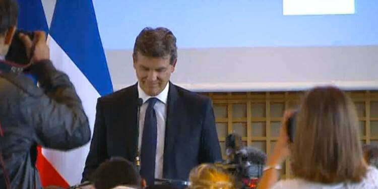 Suivez en direct la conférence d'Arnaud Montebourg