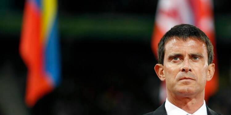 La cote de popularité de Manuel Valls tombe à 36%, selon l'Ifop