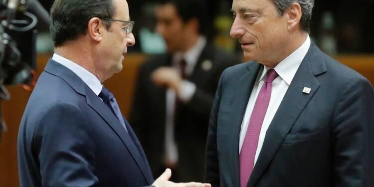 Draghi demande un effort commun à l'Union européenne pour éviter la récession