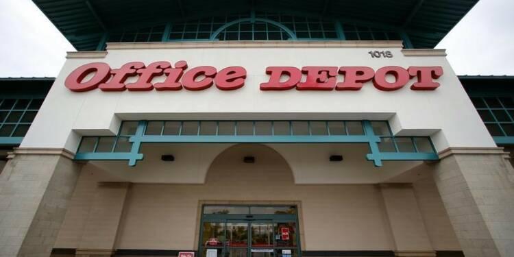 Office Depot anticipe une baisse de ses ventes en 2015