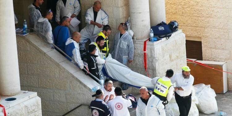 Quatre rabbins tués dans une synagogue à Jérusalem