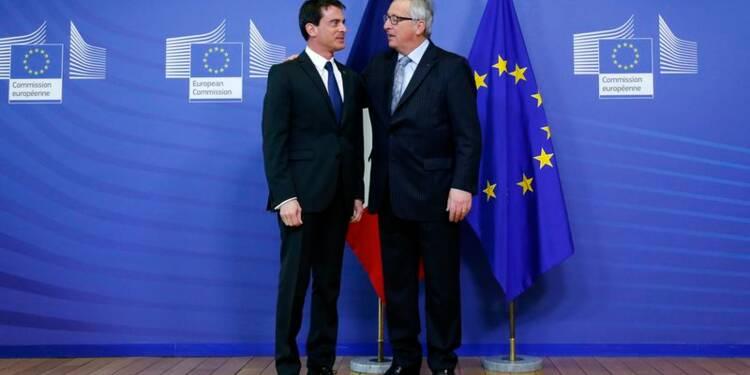 A Bruxelles, Valls promet que la France tiendra ses objectifs