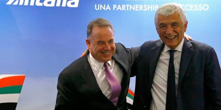 Alitalia croit à un avenir après son alliance avec Etihad