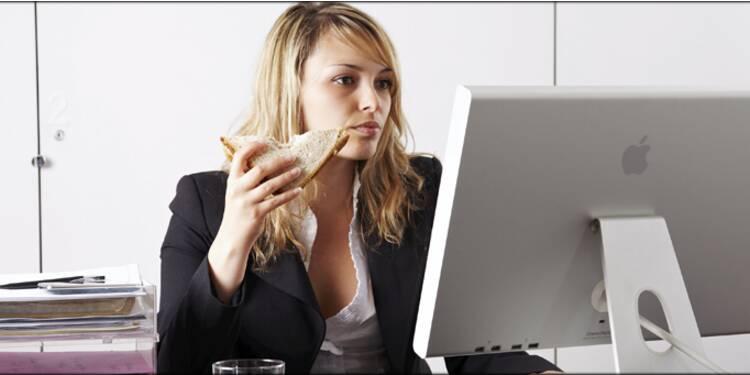 La pause déjeuner de plus en plus souvent sacrifiée