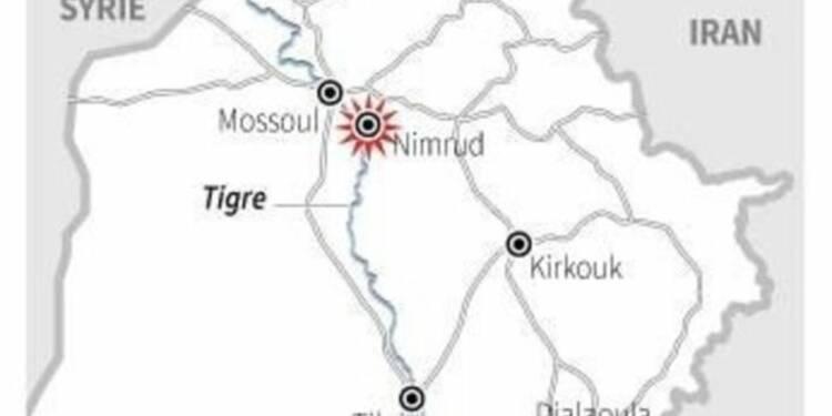 L'EI détruit des vestiges de la cité antique de Nimroud en Irak