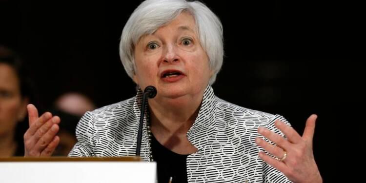 Yellen redit aux représentants ce qu'elle a dit aux sénateurs