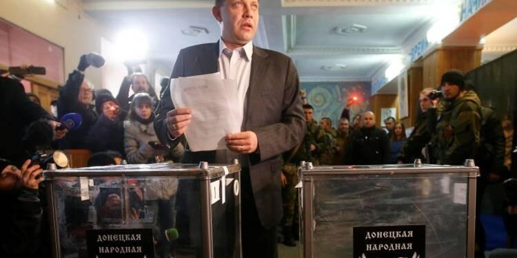 Alexandre Zakhartchenko élu haut la main dans l'est de l'Ukraine