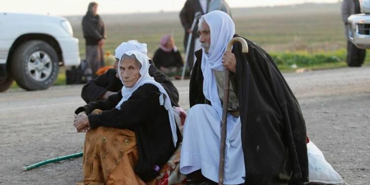 L'Etat islamique relâche 350 Yazidis dans le nord de l'Irak