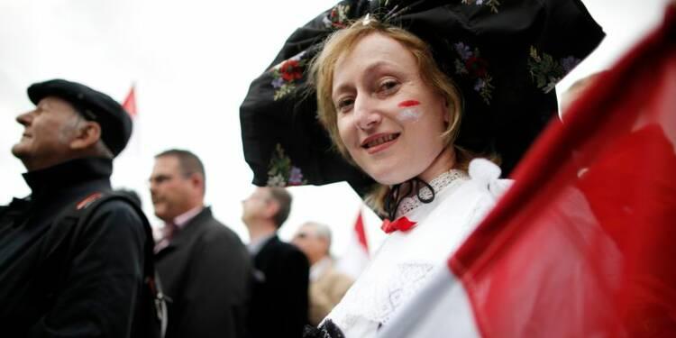 Les Alsaciens manifestent contre le projet de mégarégion