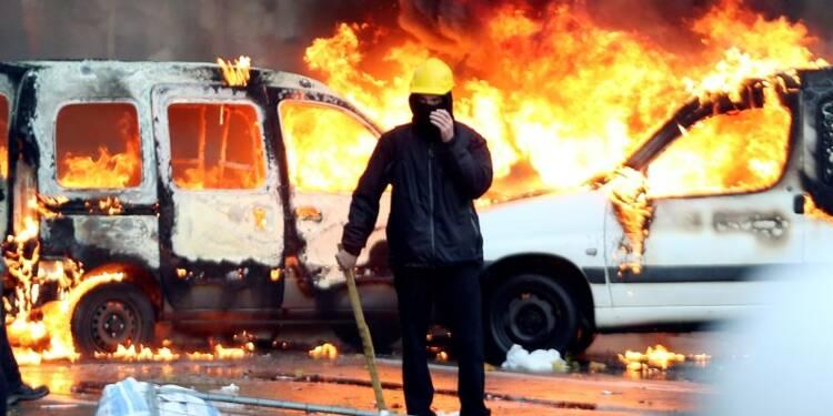 Grand défilé contre le gouvernement à Bruxelles, des incidents