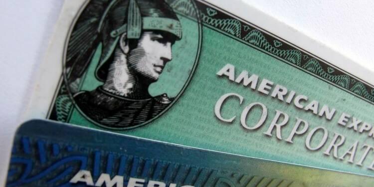 Les bénéfices d'American Express en hausse de 8,1%