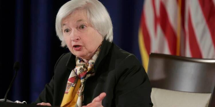La Fed ouvre la porte à une hausse de taux en juin aux Etats-Unis