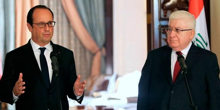Hollande promet d'aider l'Irak à combattre l'Etat islamique
