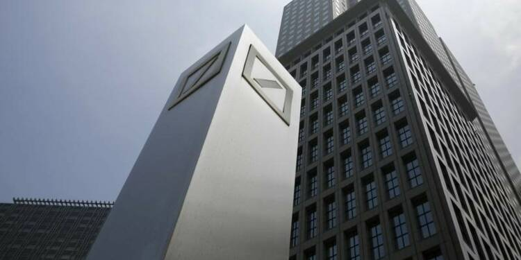 Les frais de justice plongent Deutsche Bank dans le rouge
