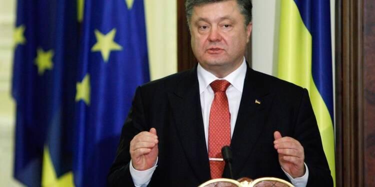 Porochenko prône l'intégration euro-atlantique de l'Ukraine