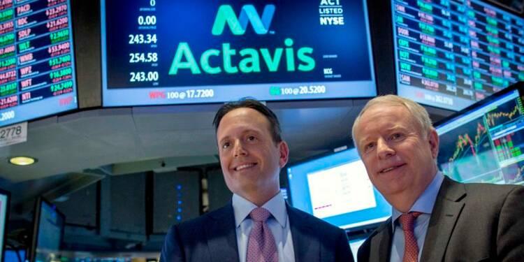 Allergan accepte d'être racheté par Actavis