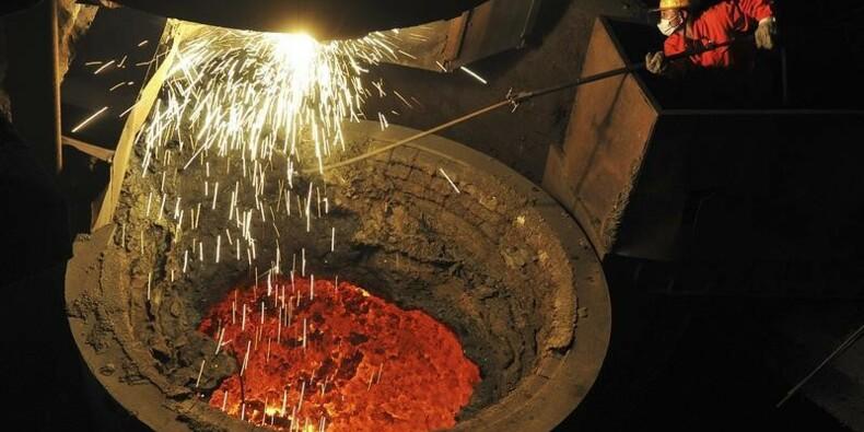Net ralentissement de la production d'acier en Chine en 2014