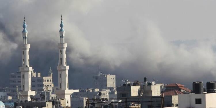 Israël frappe Gaza après de nouveaux tirs de roquettes