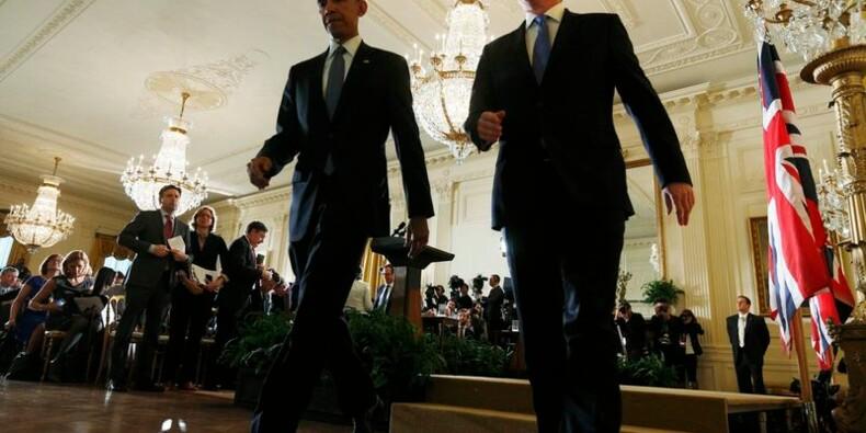 "Obama et Cameron contre ""l'idéologie toxique"" de l'islam radical"
