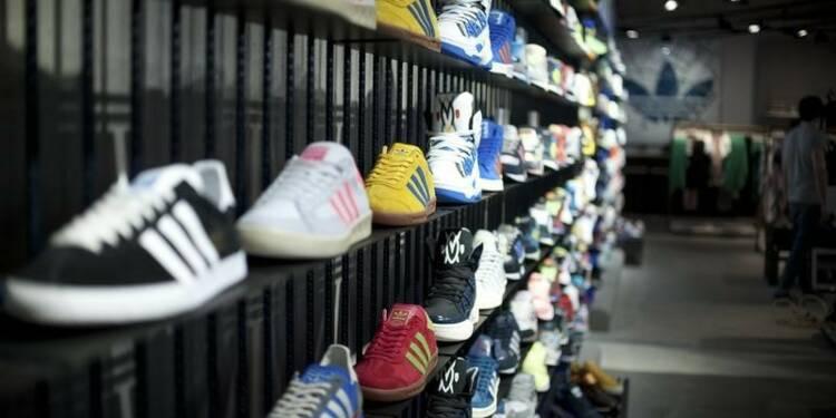 Adidas en perte au 4e trimestre mais confiant pour 2015