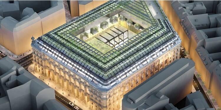 Le plus grand bureau de Poste de France transformé en hôtel de luxe