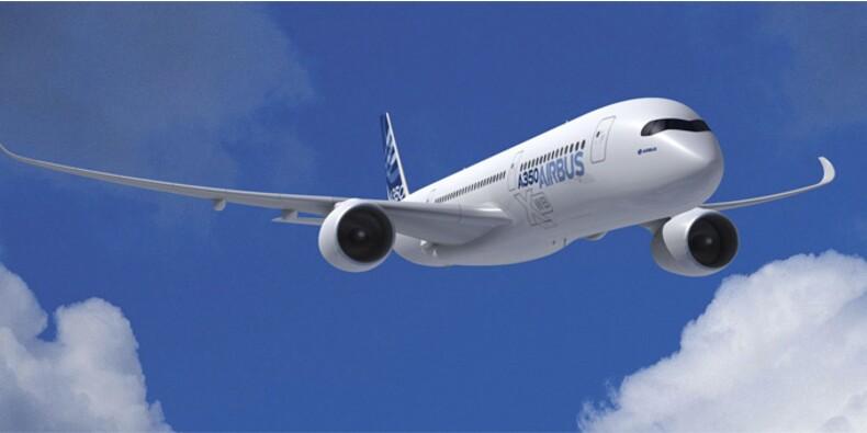Survol de l'A350 et envol de la production au menu du Bourget