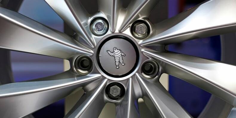 Michelin abaisse son objectif de ventes en 2014