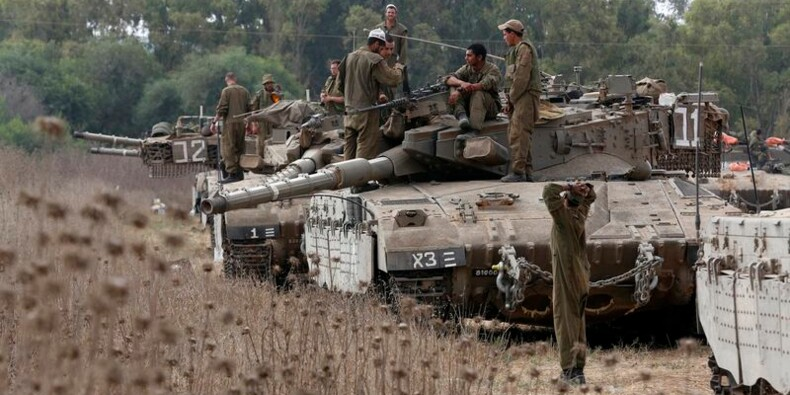 L'armée israélienne crée une zone tampon dans la bande de Gaza