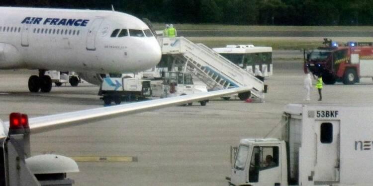 Cas suspect d'Ebola à bord d'un avion d'Air France à Madrid
