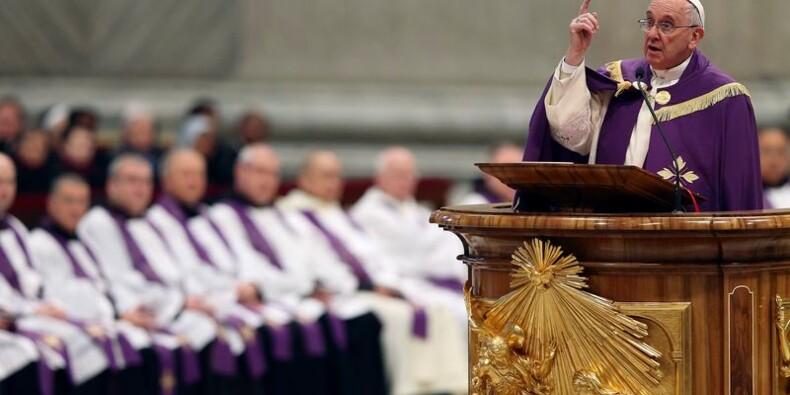 """Le pape François annonce un """"Jubilé de la miséricorde"""""""