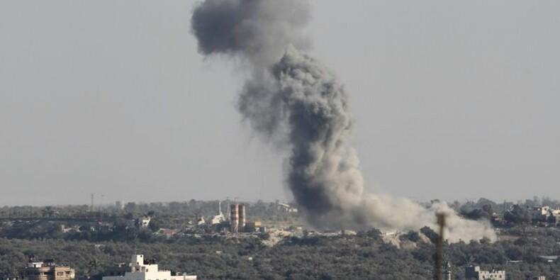 Israël frappe Gaza en réponse à des tirs brisant la trêve