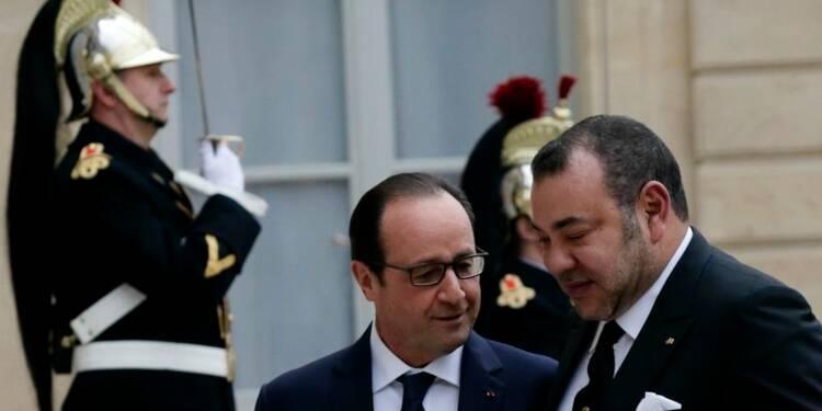 Hollande et Mohammed VI scellent la réconciliation Paris-Rabat