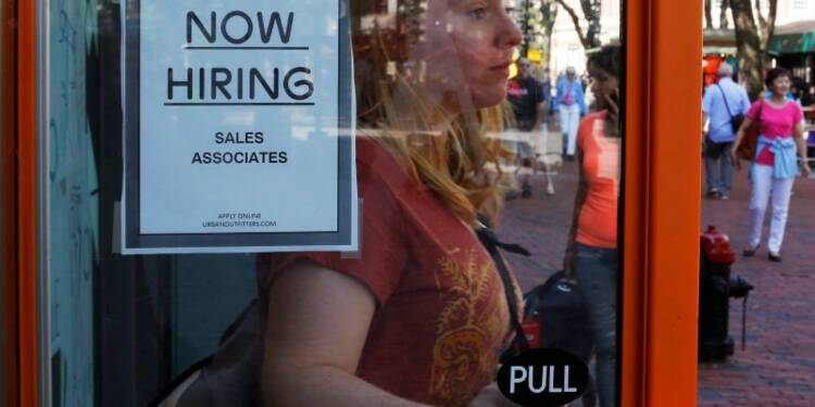 Les créations d'emploi au plus haut en trois ans aux Etats-Unis