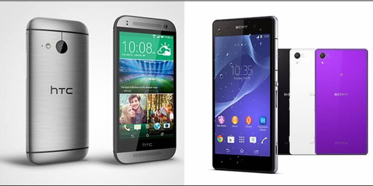 Sony Xperia Z2 ou le HTC One M8 ? Le verdict de notre jury