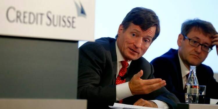 Nettement déficitaire, Credit Suisse sort des commodities