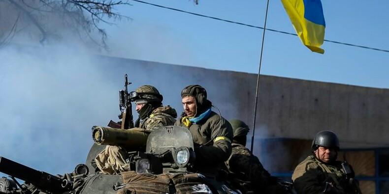 """""""Lueur d'espoir"""" pour l'Ukraine après l'accord conclu à Minsk"""