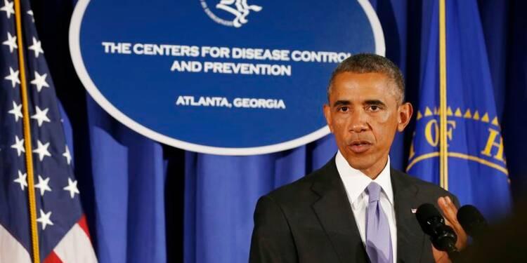 Barack Obama dévoile un vaste plan de lutte contre Ebola